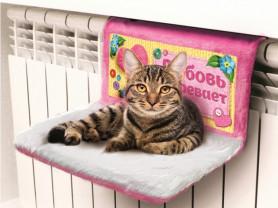 Гамак на батарею кошке
