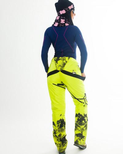 Брюки горнолыжные Snow Headquarter О1373, Жёлтый