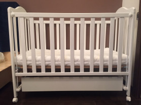 Детская кроватка Micuna Lucila Luxe 120x60