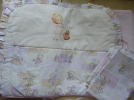Бампер + постельное белье для детской кровати