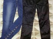 Джинсы и брюки пакетом р. 42-44