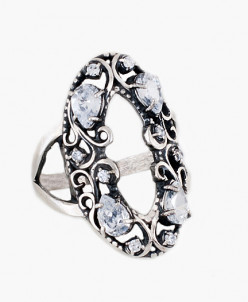 Кольцо из серебра Габриэлла Юмила