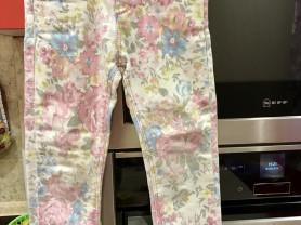 Цветные штаны Zara р 24-36 м