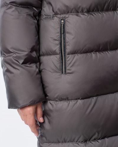 """Пальто """"Астория"""" темно-серое"""