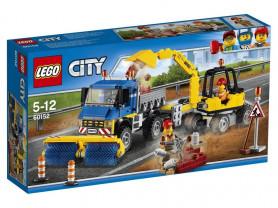 Lego City Great Vehicles Уборочная техника 60152