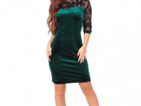 🎈Женское платье Дженни изумрудное👚
