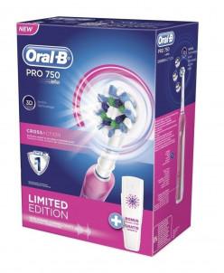 Электрическая зубная щетка Oral-B Pro 750 CrossAction D16 Pi