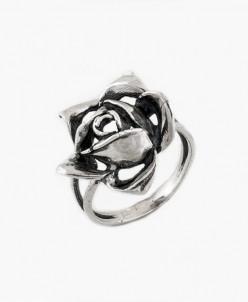 Кольцо из серебра Роза Юмила