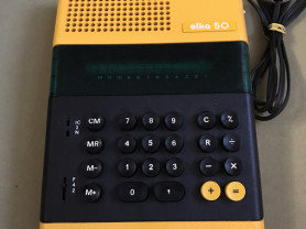 Электронный Калькулятор Елка 50
