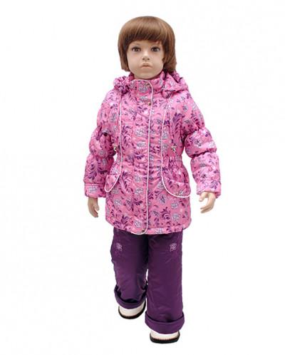 Комплект демисезонный для девочки А 158-16 Rusland розовый