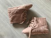 текстильные ботиночки для малышки