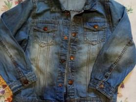 Джинсовая куртка, рубашки для мальчика