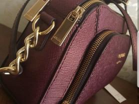 Новая кожаная сумка кроссбоди Италия