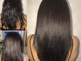 Кератиновое выпрямление, ботокс для волос и спа уходы