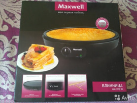 Продам новую электроблиницу Maxwell MW-1970BK