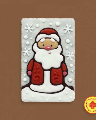Дед мороз в снежинках (130 грамм)