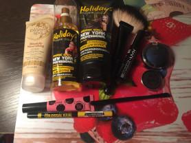 сет косметики для волос и макияжа