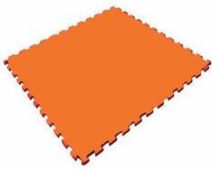 Мягкий пол универсальный 1000*1000*14 мм, оранжевый