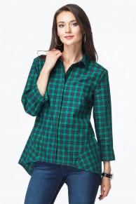 Блузка из эластичного хлопка