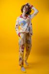 """Женская пижама """"Жирафики"""""""