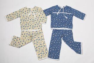 Пижама детская (цветы) кулирка