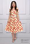 Платье Миллион планов (яркая, с ремешком)