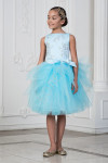 Нарядное платье для девочки модель 344