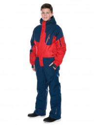 Детский горнолыжный комбинезон 2019-2020, T-8806, Красный
