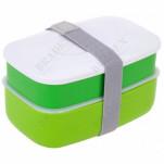 Ланч-бокс с двумя отделениями и приборами, 1,2 л. (Lunch-box