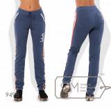 Модель № 9498 - цвет джинс