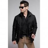 Куртка мужская демисезонная 081  Nikolom черная (Беларусь)