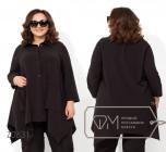 Модель № Z0631 - блуза, цвет черный