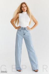 Свободные джинсовые брюки Gepur