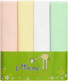 Пеленки тонкие Little Me 4 шт.