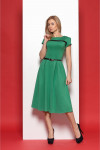 Платье 1109 зеленый р.46