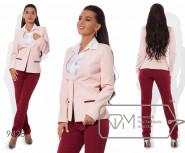 Модель № 9428 -пиджак маломер  на 1 размер