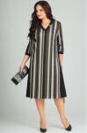 Платья Модель 1183 полоска Arita Style-Denissa      Производ