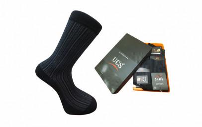 Носки мужские   БАМБУК( подарочная упаковка 12 шт) черный