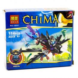 Конструктор Bela 10051 аналог LEGO Чима 70000 Планер Ворона