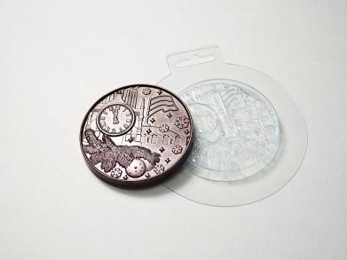 Форма Медаль новогодняя 1
