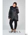 Куртка №1858-1-Черный