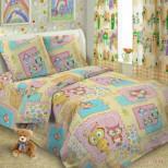 Детское постельное белье №1696 1,5 сп. поплин