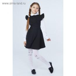 Школьный сарафан, цвет черный