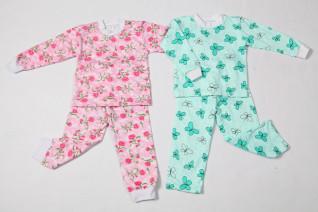 Пижама детская (цветы)