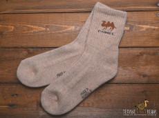 Носки из верблюжьей шерсти бежевые