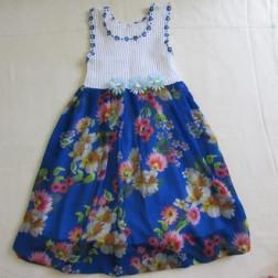 платье балон с шифоновой юбкой