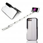 Чехол для iPhone со встроенной селфи-палкой и с пультом