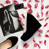 Замшевые туфли на платформе. New collection 17-18!