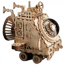 Космический корабль Стимпанк - деревянный конструктор
