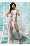 Облегающее короткое платье - 21709